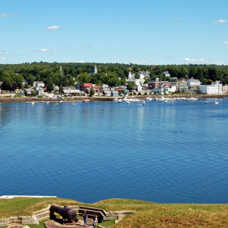 Maine Vacation: Fort Knox and Penobscot Narrows Observatory