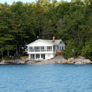 Maine Vacation: Green Lake