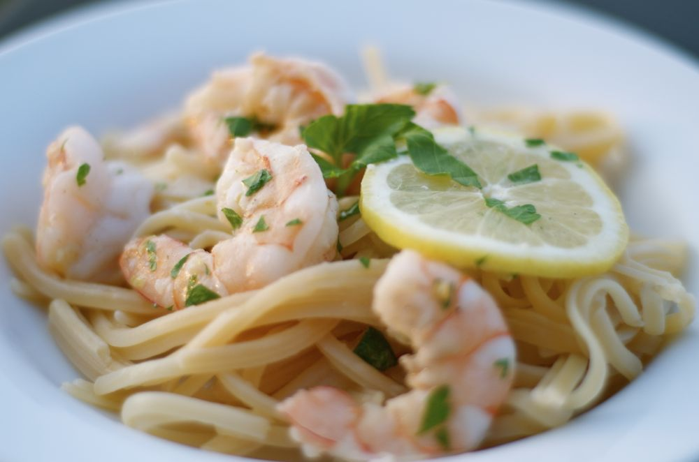 linguine with shrimp scampi over the past few weeks shrimp linguine ...