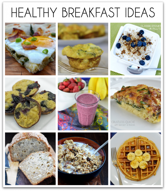18 Healthy Breakfast Ideas