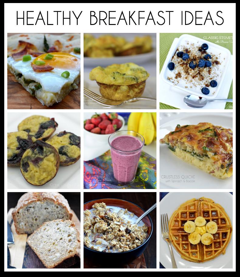 Healthy Breakfast Recipe Ideas: 18 Healthy Breakfast Ideas
