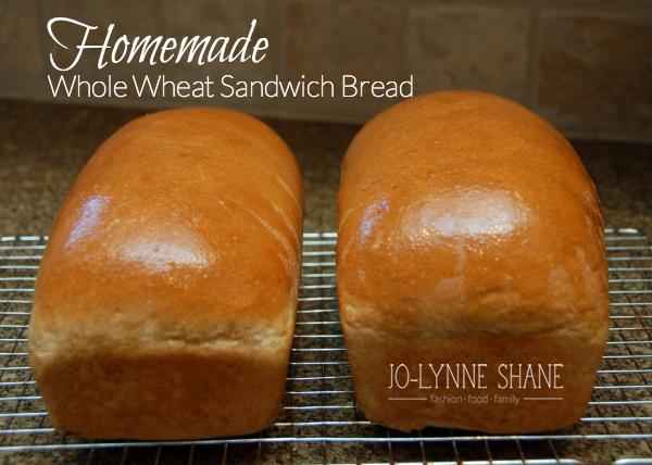 Homemade Whole Wheat Sandwich Bread Recipe