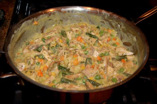 Curry Chicken Pot Pie