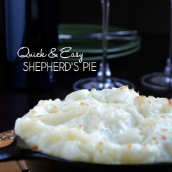 This homemade Shepherd's Pie recipe is the ultimate comfort food.