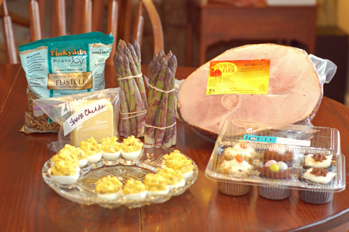 What's On The Menu: Easter
