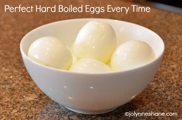 ... tried and true method to make the Perfect Hard Boiled Eggs every time
