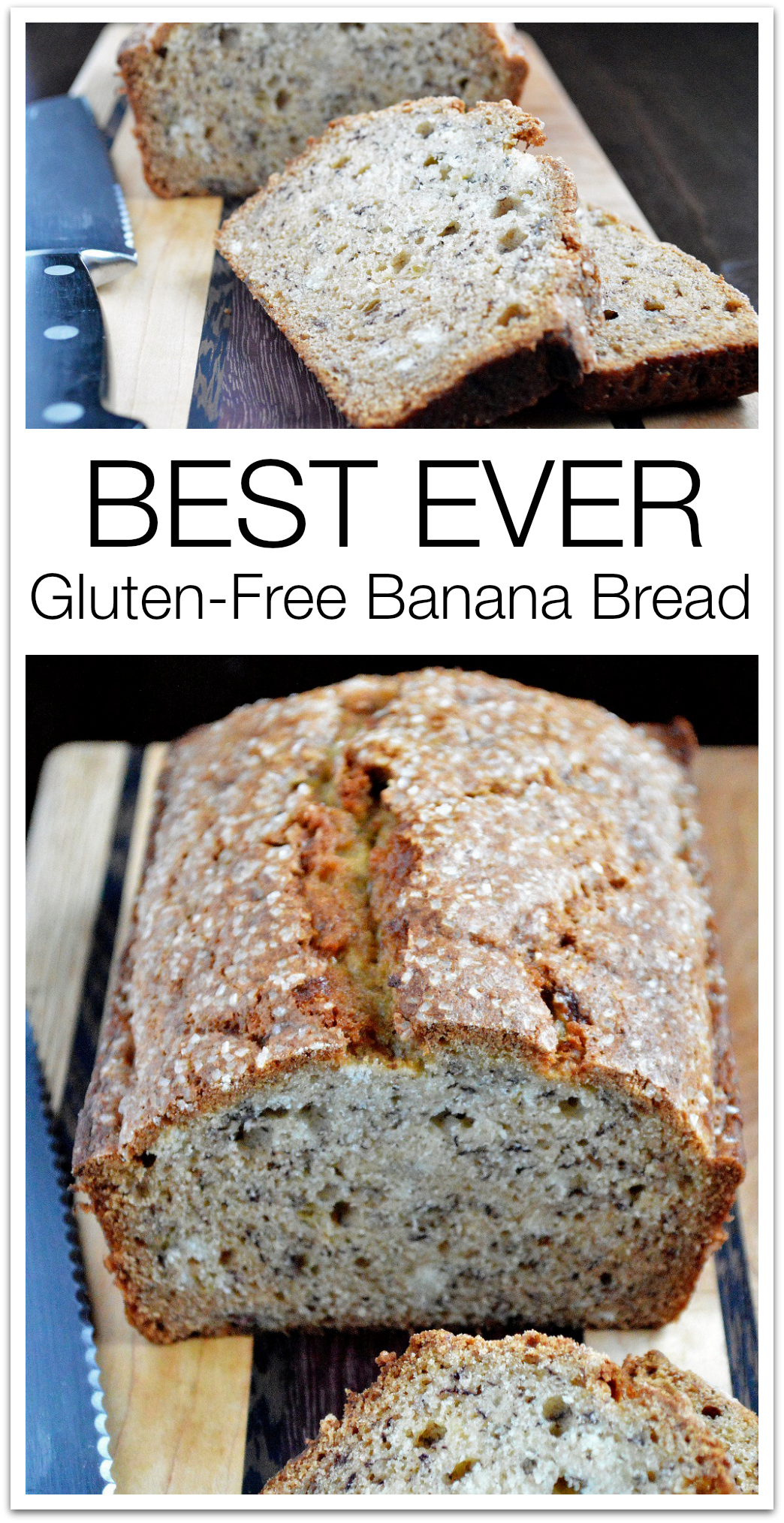 Best EVER Gluten Free Banana Bread