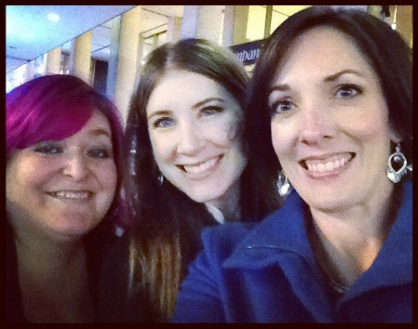 cecily, mel and Jo-Lynne in NYC