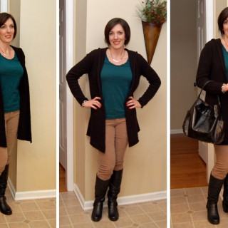Mom Fashion   What I Wore This Week 12.21.11