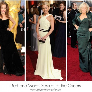 Fashion at the Oscars