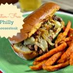 {Gluten-Free} Philly Cheesesteak Sandwich