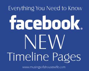 Facebook's New Timeline Pages