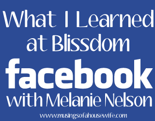 What I Learned At Blissdom   Facebook Session