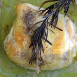 Rosemary Baked Chicken Thighs