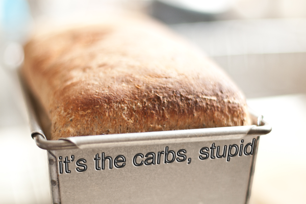 it's the carbs stupid