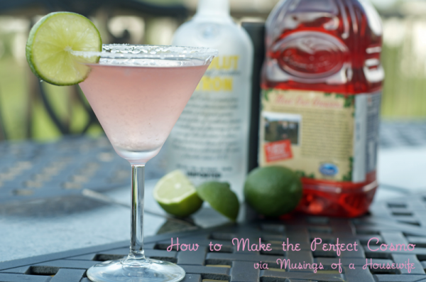 How to Make the Perfect Cosmo Recipe