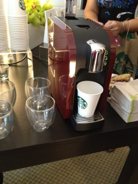starbucks verismo red