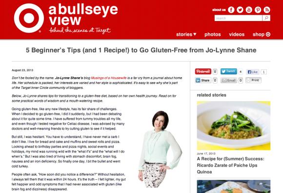 tips for going gluten free