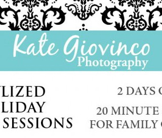 Petite Photo Sessions with Kate Giovinco