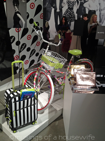 Alice + Olivia for Target + Neiman Marcus Luggage and Bike