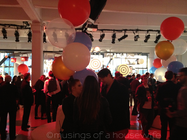 Target at 50 Media Party