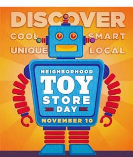 Neighborhood Toy Store Day is Nov 10