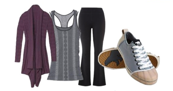 Fashion Friday :: Rocking the Yoga Pants