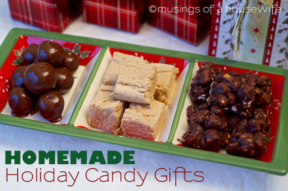 Sweet treats for gift giving for Homemade christmas candy gift ideas