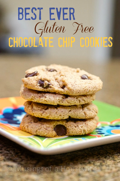 Game Day Recipes | Gluten Free Chocolate Chip Cookies