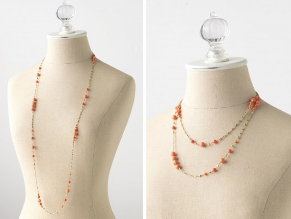 how to wear necklaces 7