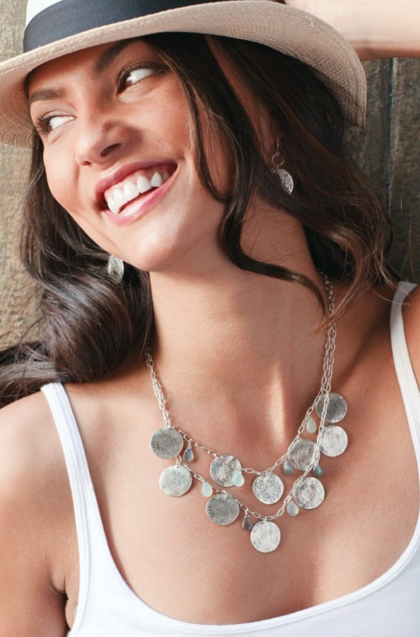 how to wear necklaces 5