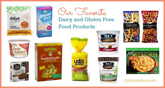 Our 10 Favorite Dairy & Gluten Free Food Products