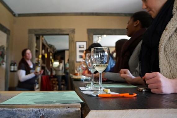 Poconos Family Vacation | Wine Tasting at Mountain View Winery