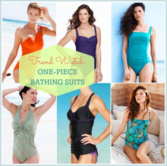 Trend Watch: One-Piece Swimsuits