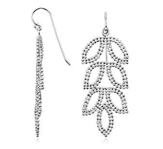 Leaf Chandelier Earrings