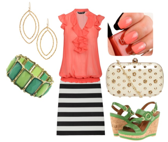 Striped Skirt for a GNO