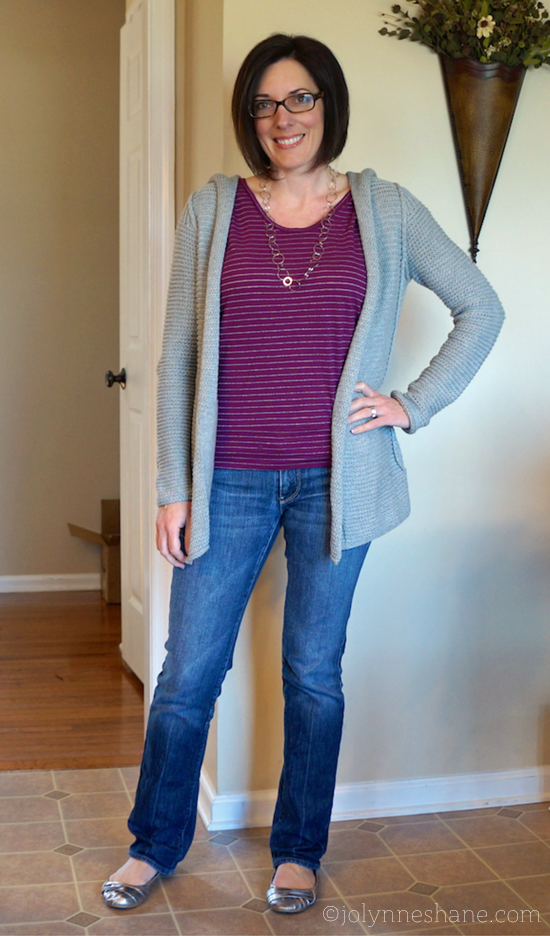 #ootd cardi and jeans
