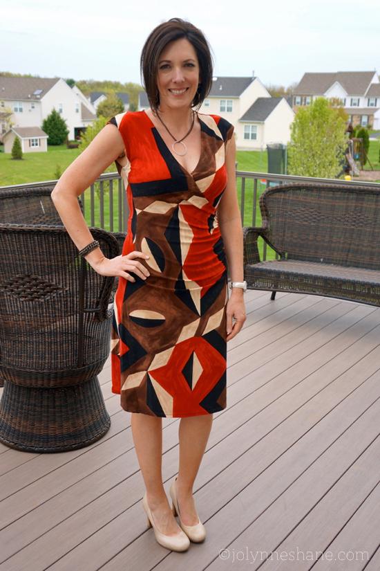 #ootd Lauren by Ralph Lauren dress
