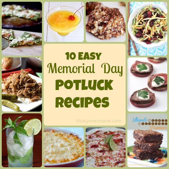 10 Easy Memorial Day Potluck Recipes