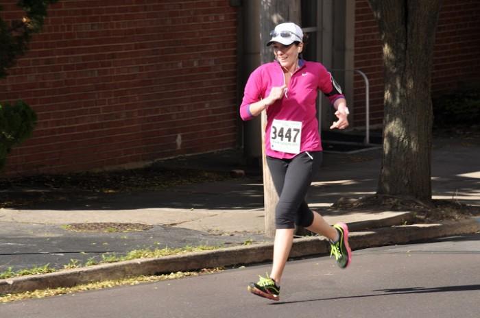 Jo-Lynne running