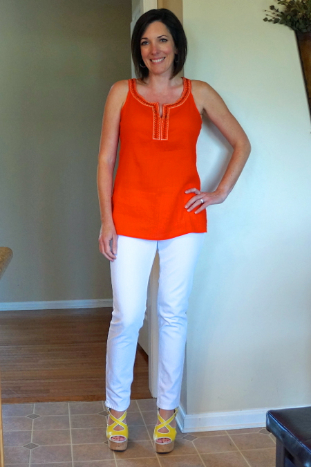 How to Wear: Orange and Yellow