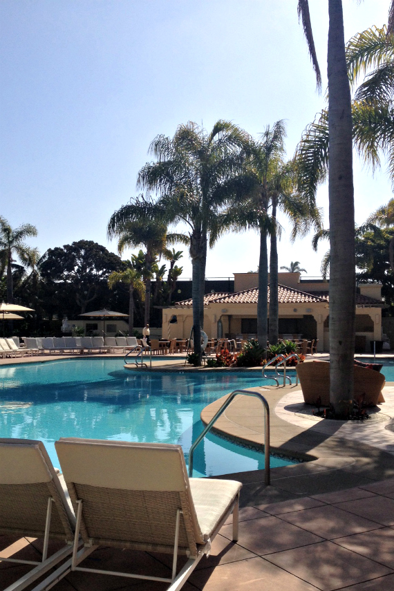 Pool at Ritz Carlton