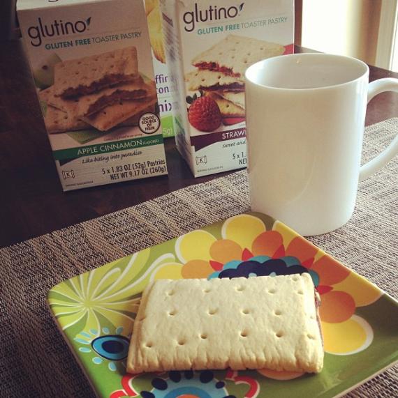 Glutino Toaster Pastries