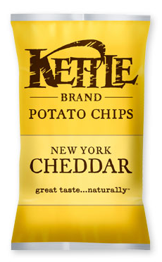 Kettle Brand New York Cheddar Potato Chips