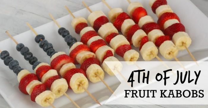Flag Fruit Kabobs