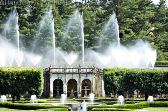 summer at longwood gardens