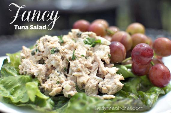 Fancy Tuna Salad with Sir Kensington's Mayonnaise
