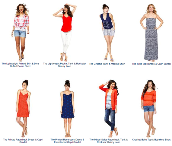 Fourth of July Fashion from Old Navy