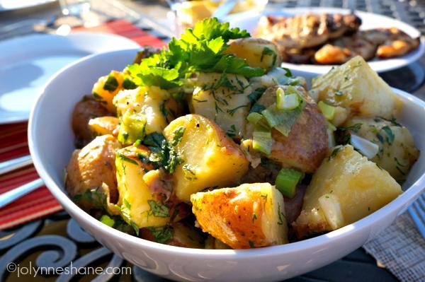 Herbed Warm Potato Salad