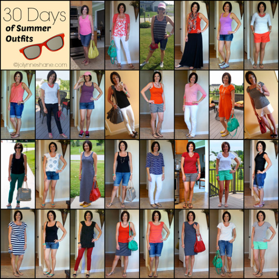 30 days of summer outfits